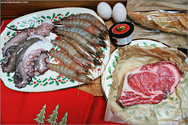 Compra para la Cena de Noche Vieja en Eataly Boston