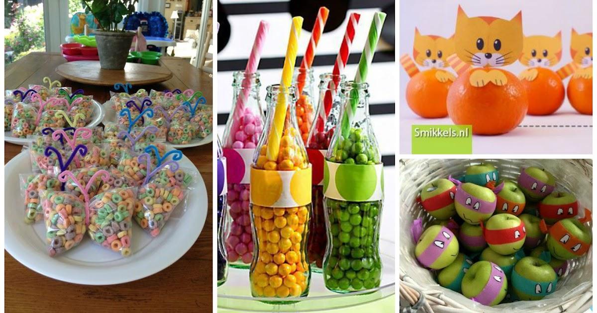 7 ideas divertidas para regalar dulces y fruta a los ni os - Ideas divertidas para fiestas ...