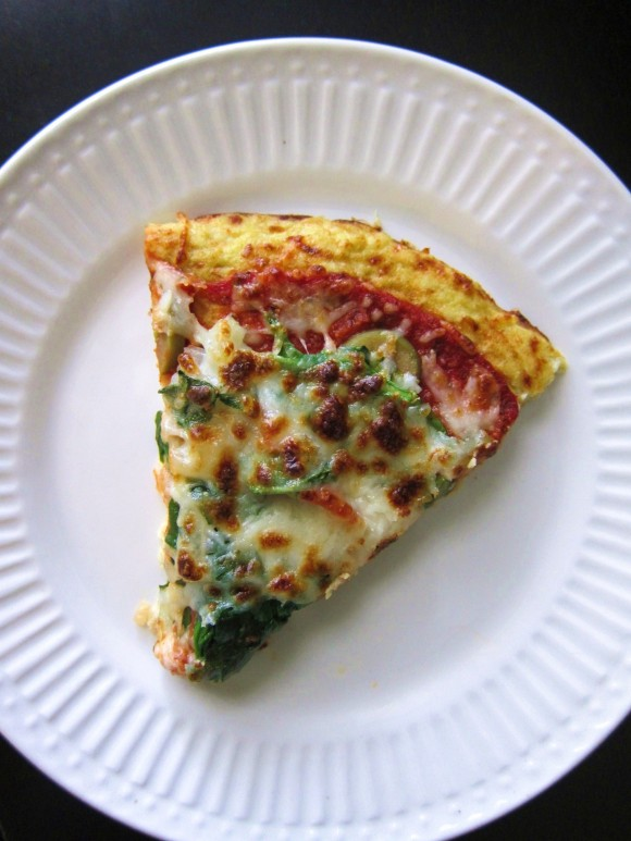 Fabulous & Fit Over 40: Cauliflower Crust Pizza - Perfect ...