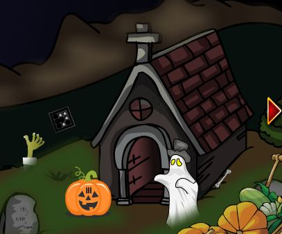 EscapeGamesZone Graveyard Treasure Escape