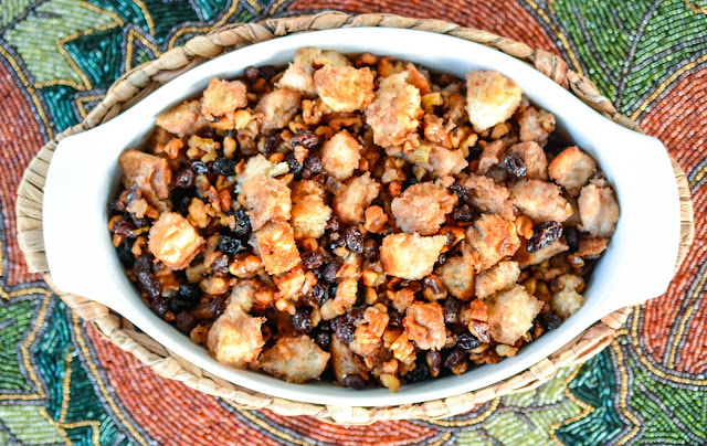 Walnut Raisin Stuffing