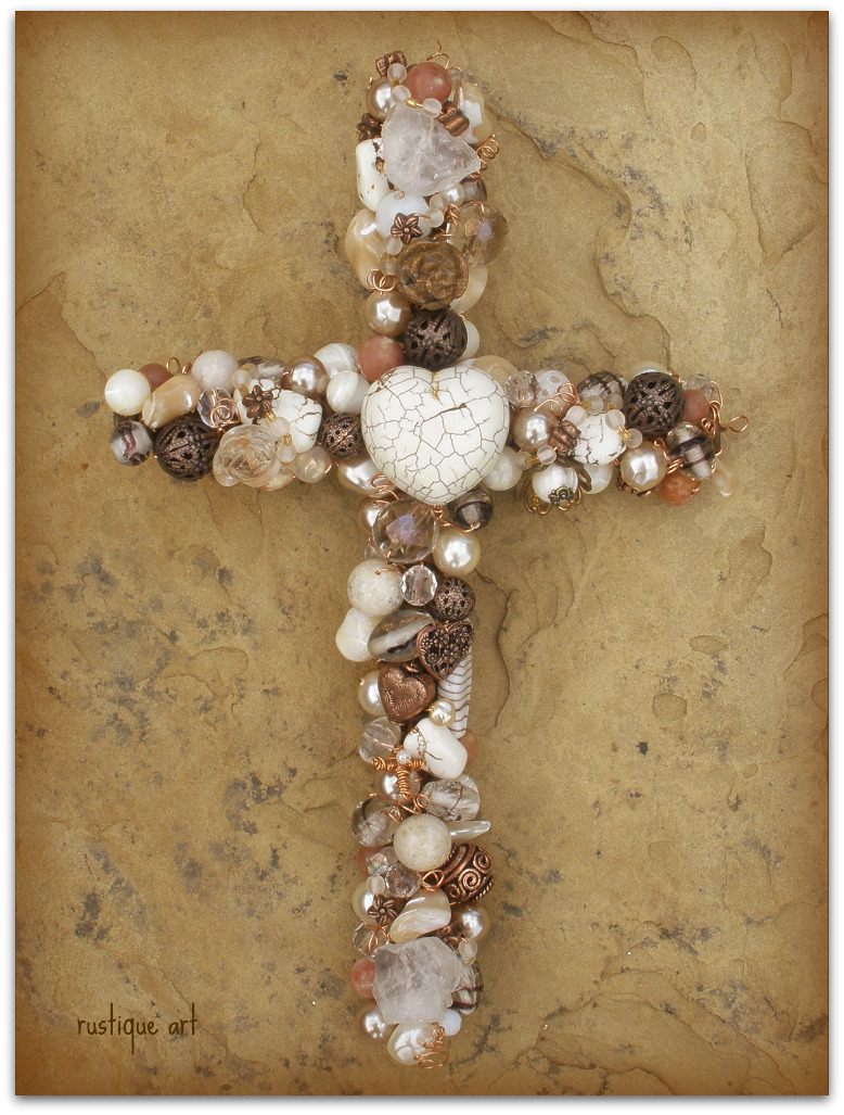 Rustique Art: CROSSES - Ichthus Cross Wall Decorations
