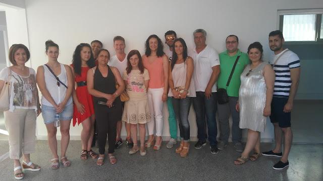 Στη Λάρισα φιλοξενήθηκε η συνάντηση εταίρων του ευρωπαϊκού προγράμματος Erasmus+ A new entrance