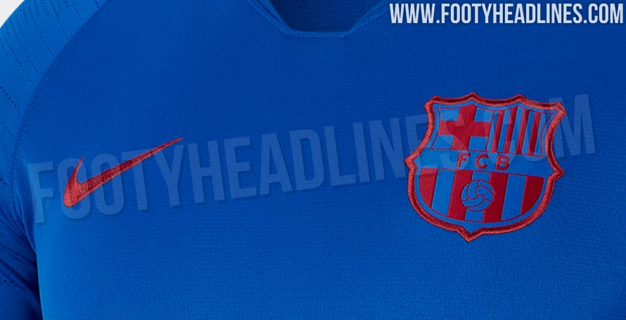 53c35ff72b5 EXCLUSIVE  FC Barcelona 19-20 Training Kit Leaked