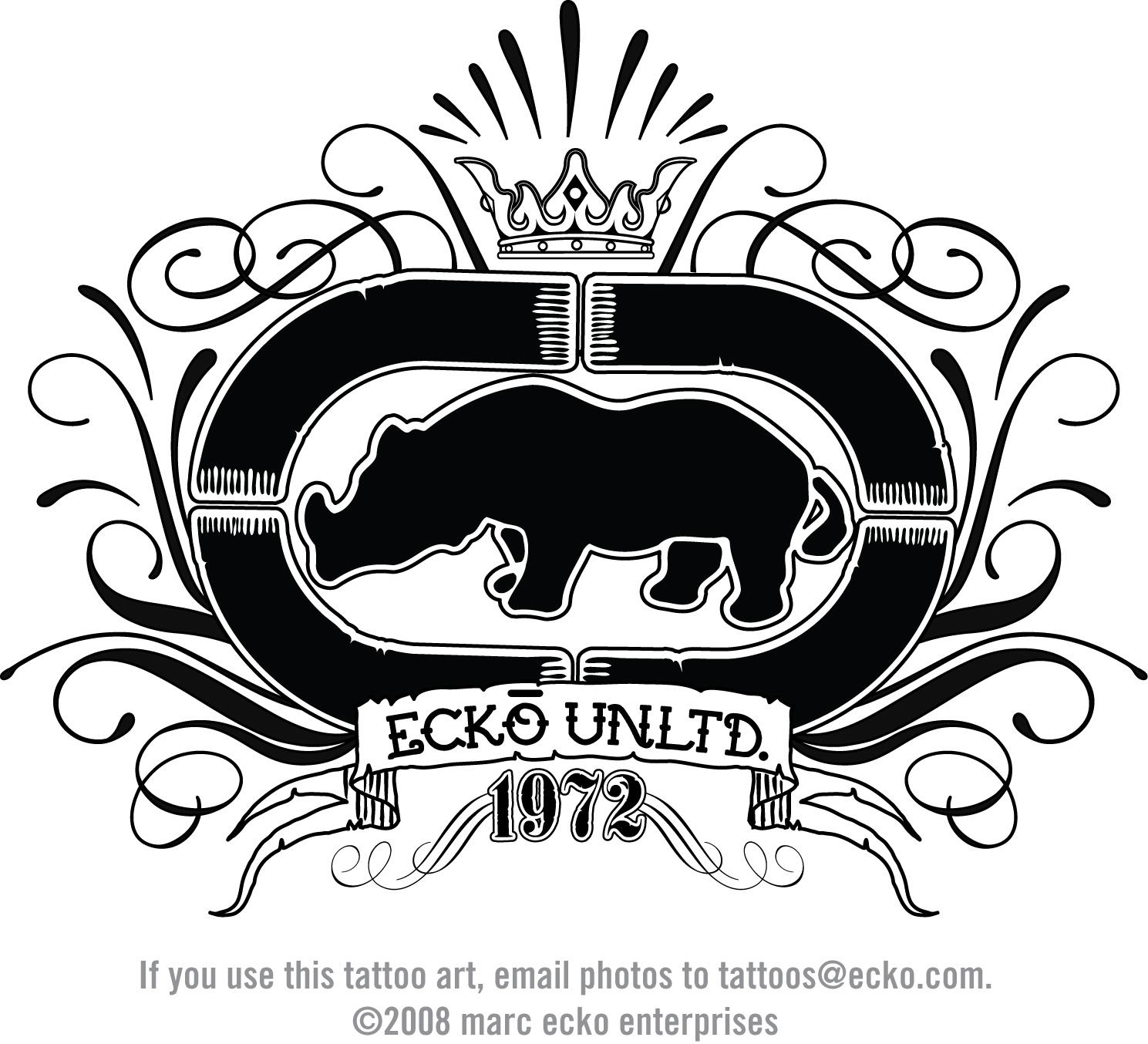 ECKO Save the Rhino Campaign feat Graffiti Artist  TUTS