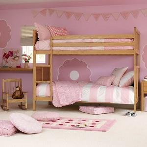 cama litera niñas