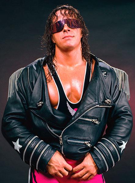 Pressing Catch WWF - Bret Hart