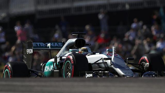 Hasil Kualifikasi GP F1 Austin : Dua Mercedes di depan diikuti Redbul dan Ferrari