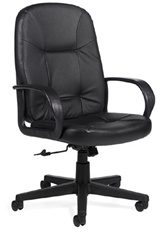Global Arno Leather High-Back Chair