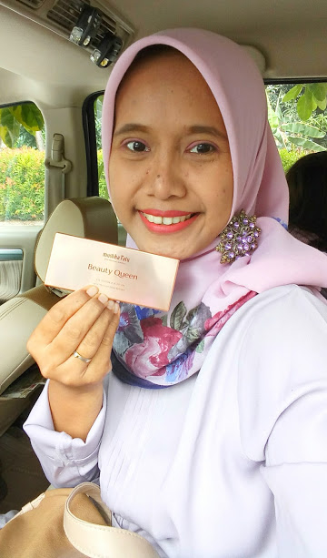 Skin Care Benefit dari Eye Shadow dan Blush On Beauty Queen Series Mustika Ratu Saat Ramadan dan Lebaran