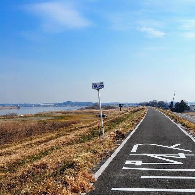 利根川 海から60km