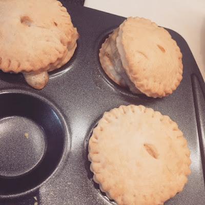 Ham and Leek Mini pies