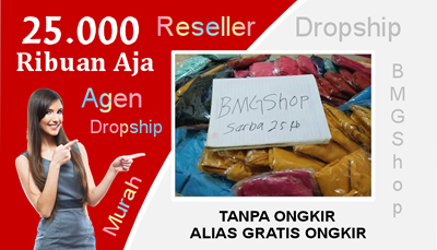 Daftar Dropship BMGShop