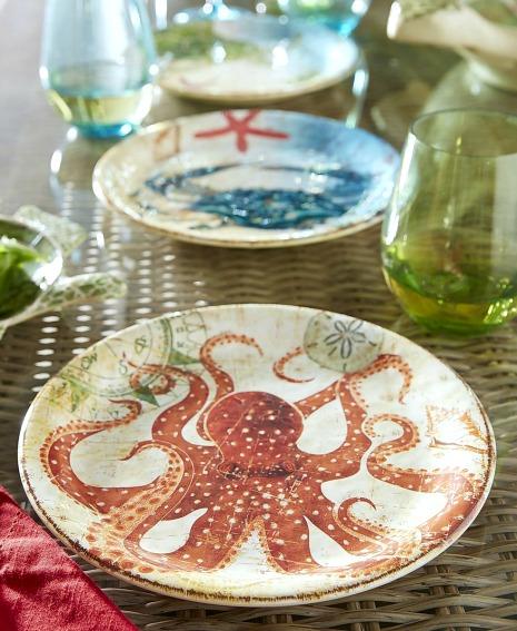 Sea Life Plates