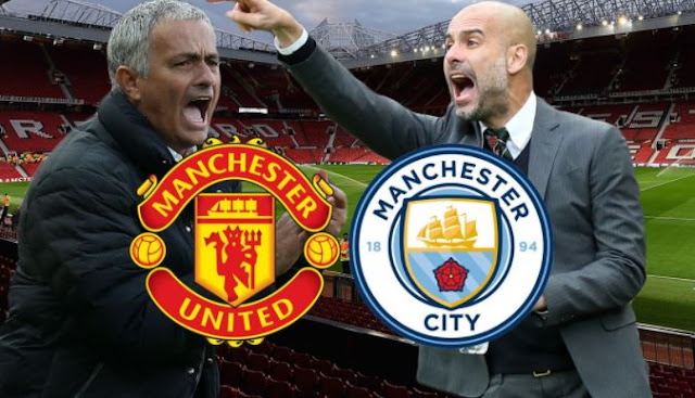 MOURINHO SOAKED & ARTETA CUT AS PLAYERS CLASH IN OLD TRAFFORD TUNNEL AFTER MANCHESTER DERBY