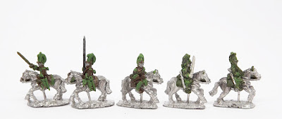 Chevau-Leger - 3 x command / 2 x troopers: