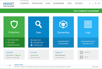 Emsisoft Anti-Malware Sundeep Maan