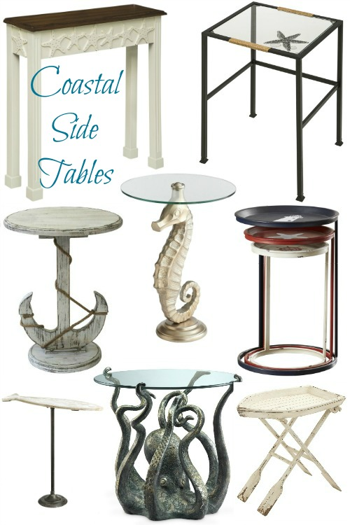 Coastal Amp Nautical Accent Tables Side And End Tables