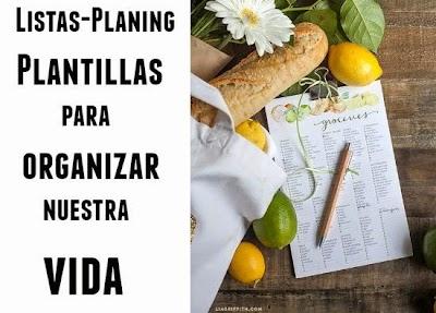 Plantillas Lista de Dietas, Papel de Cartas, y mucho mas
