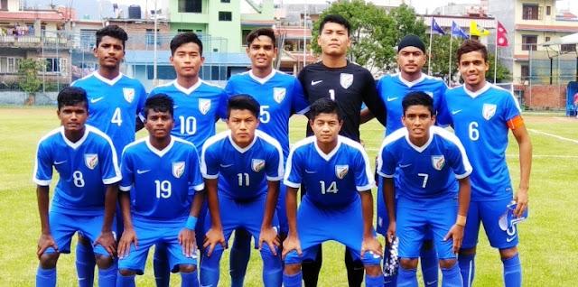 India U-16 beat Palestine U-16