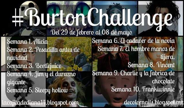 consignas del reto Burton
