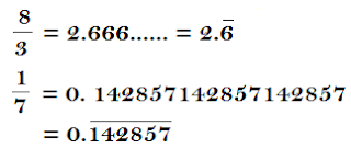 Recurring decimal example image