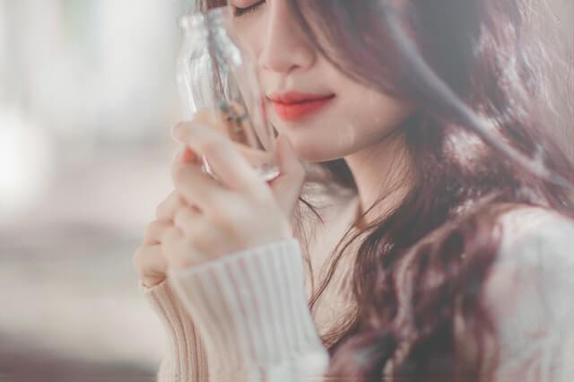 Adult Beautiful Blur Bottle HD Copyright Free Image