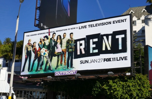 Rent Live billboard