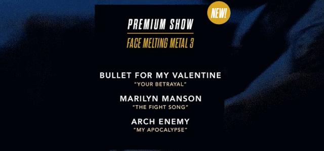Guitar Hero Live nos muestra su nuevo Premium Show Face Melting Metal 3