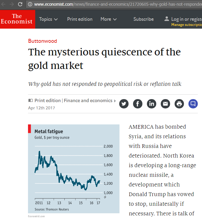 http://www.economist.com/news/finance-and-economics/21720605-why-gold-has-not-responded-geopolitical-risk-or-reflation-talk-mysterious