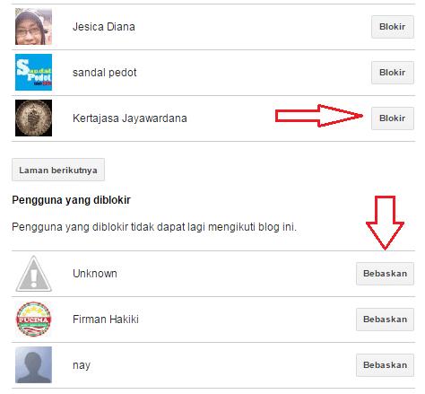 Cara Mudah Memblokir Followers Blog