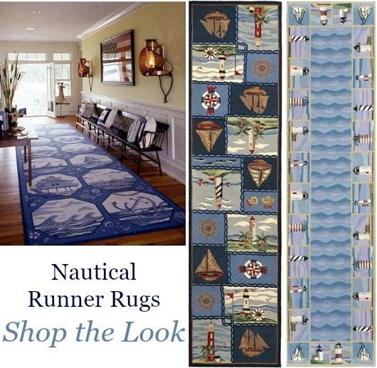 Coastal Rug Runners Home Decor