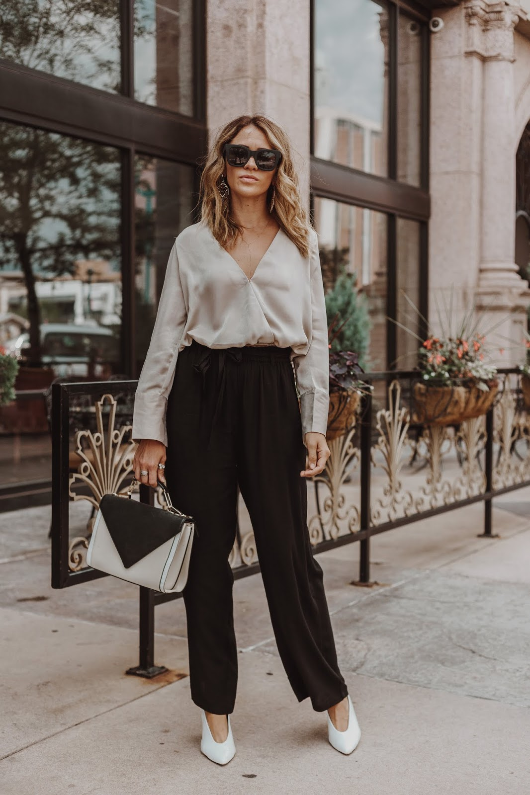 d6262708b3e45 What To Wear To An Office Dinner Party - Leah Behr
