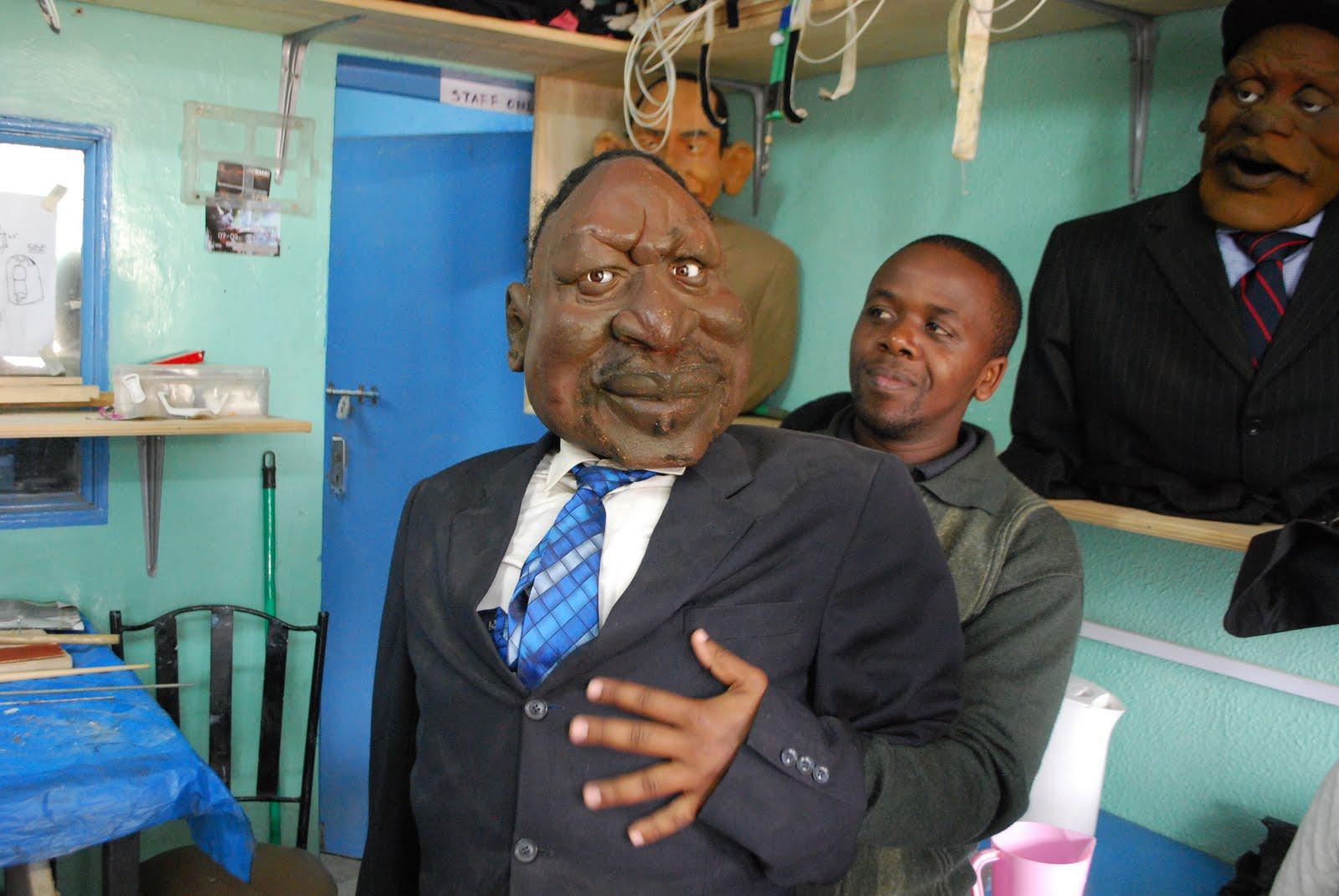 Verden Ifolge Gry Politisk Satire Pa Kenyansk