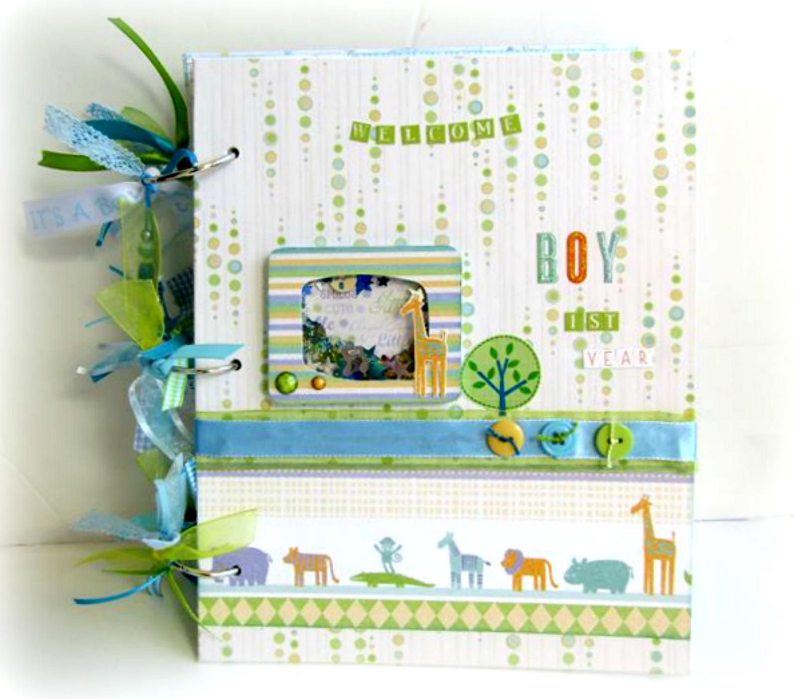 Dada Creations  Hμερολόγιο λεύκωμα για νεογέννητο αγόρι e4aadca3bd6