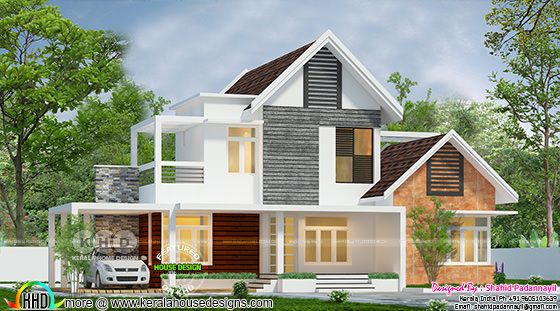 Beautiful mixed roof 3 bedroom house year 2018