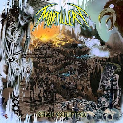 Mortillery - Shapeshifter - cover album - 2016