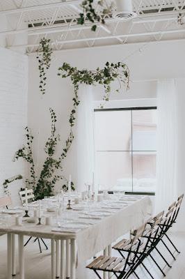 Minimal-Climbing-Ivy-Studio-Dinner-Party-Design
