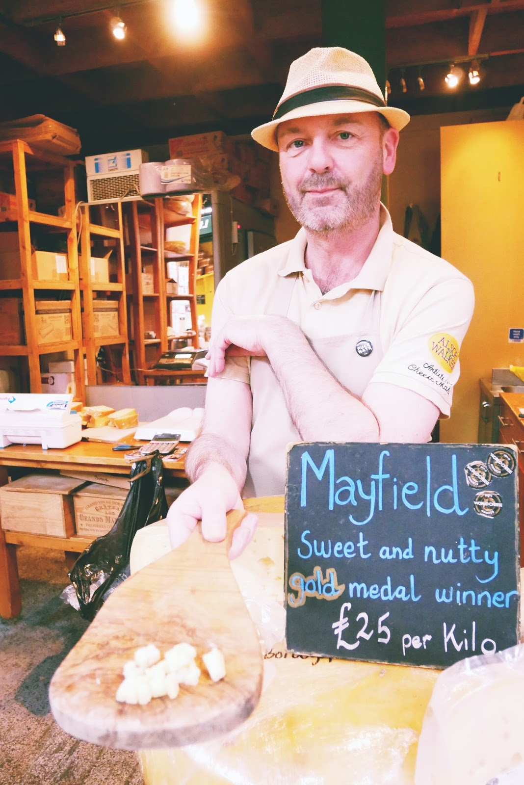 Mayfield Cheese, Borough Market, London
