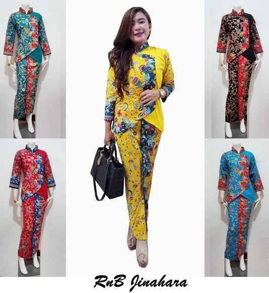 Baju Kebaya Bawahan Batik: 30 Model Bawahan (Celana & Rok) Yang Cocok Untuk Baju