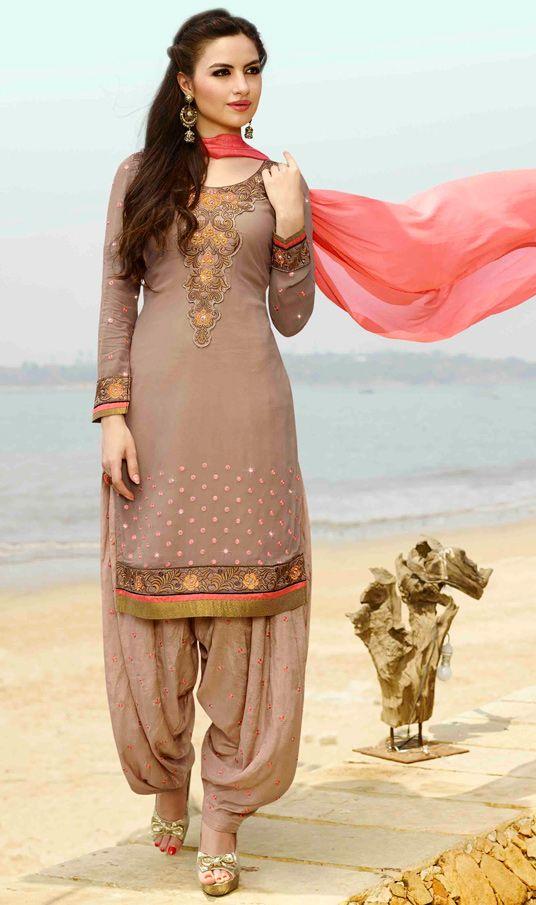 Punjabi New Salwar Kameez Suits Collection For Girls