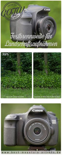 Canon 24mm Festbrennweite für Landschaftsaufnahmen Perfekt für Outdoor Fotografie