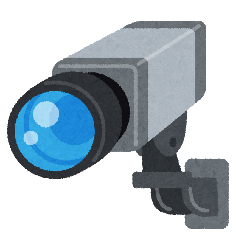 監視カメラ防犯カメラのイラスト かわいいフリー素材集 いらすとや