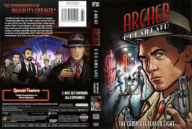 Archer Dreamland Season 8 DVD Cover