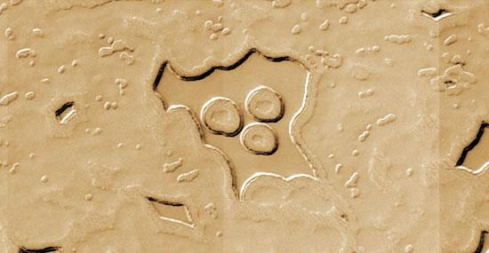 Estranhos círculos no solo de Marte intrigam especialistas e leigos pelo mundo - Capa