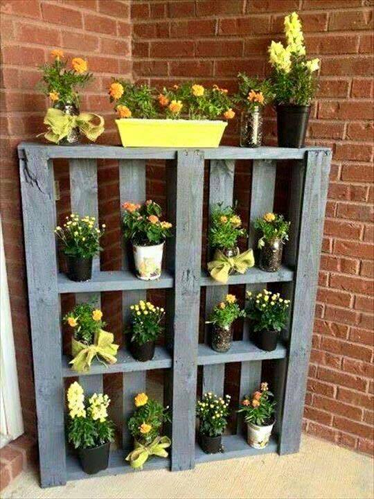 wooden pallet can get in very cheap price however it can turn out to be very awesome make over