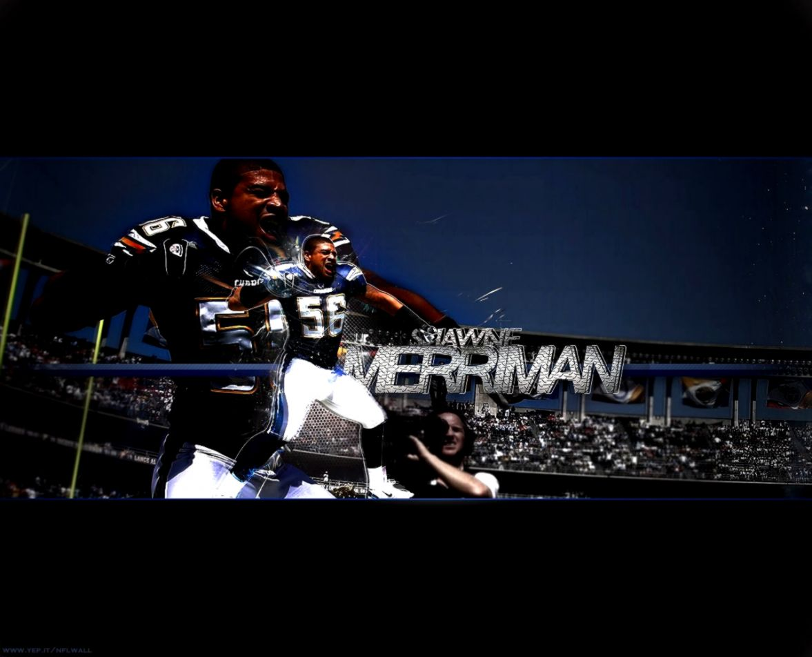 San Diego Chargers Shawne Merriman Wallpaper View Wallpapers