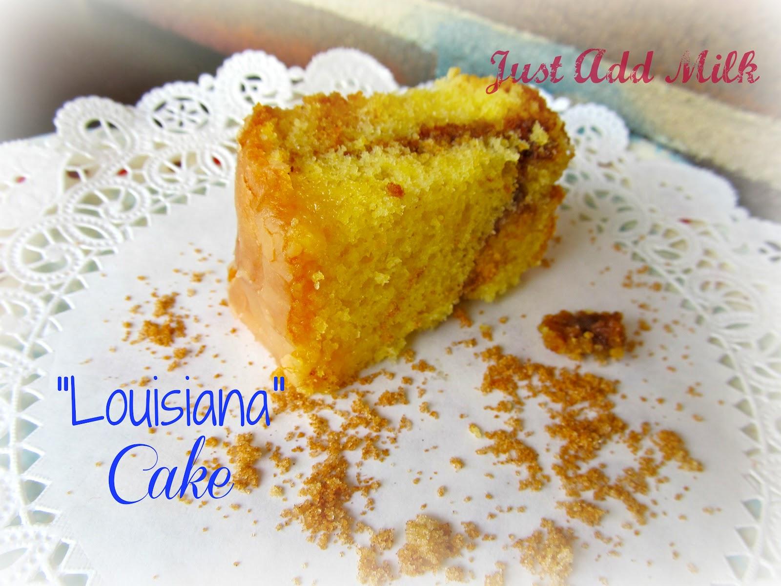 Louisiana Crunch Cake Recipe Dishmaps