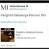 Media Indonesia: Panglima Sebaiknya Pensiun Dini; Netizen: Klo Presiden yang Pensiun Dini Setuju