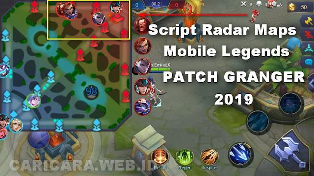 Script Radar Map Hack Mobile Legends Patch Granger